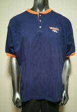 Denver Broncos Collectible Henley Style Shirt by THE EDGE NFL Football Sz XL