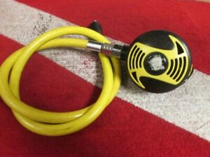 SCUBA DIVING PRE-OWNED CRESSI-SUB XS SECOND STAGE OCTOPUS REGULATOR VERY GOOD!