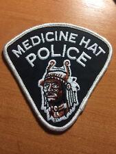 PATCH POLICE CANADA - MEDICINE HAT TRIBAL ( ALBERTA ) - ORIGINAL!