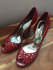 Gianni Bini red shoes size 7