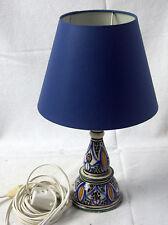 schöne Tischleuchte aus Keramik, 34 cm hoch,schirm 20 cm Durchm