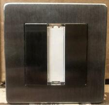 50 x Crabtree Platinum KNX 7172/EIB/SC 2 Gang Satin Chrome Switch