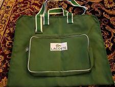 Lacoste Mens Travel Garment Bag Duffle Weekender HandBag NWOT