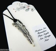 Beautiful Silver Feather Bookmark Beautiful Gift Mothers Day Birthday Etc..