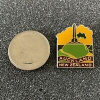 Auckland New Zealand Travel Souvenir Pin Pinback #38601