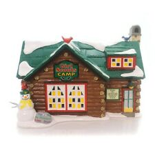 Department 56 Snow Village-Girl Scout Camp 2016 *Retired*