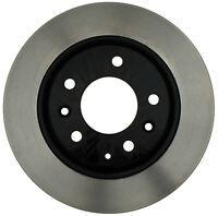 Disc Brake Rotor-Black Hat Rear ACDelco Pro Brakes 18A1493