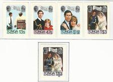 Tonga: 1981; Scott 485-488 + B1, mint. TG172