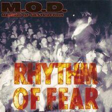 M.O.D. - Rhythm Of Fear CD