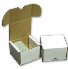 200 Count Cardboard Card Storage Box - Holds 175 Standard / 280 Gaming Cards
