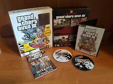 BIG BOX GTA III 3 Grand theft auto Collectors PC game