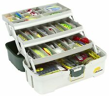 Fishing Tackle Box Storage Case Tray Hooks Lure Gear Organizer Hip Roof Plano