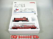 AN707-1# Märklin H0/AC 4580 Wagen-Set Texas: Caboose+Flat Car+Feuerwehr NEUW+OVP