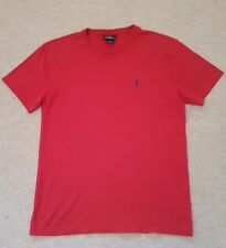 """POLO BY RALPH LAUREN T SHIRT. Size S (38""""). Red. 100% Cotton. RRP £35."""
