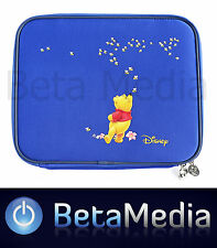 """Disney Winnie the Pooh 12"""" Inch Laptop Notebook Sleeve - Tablet Bag / Carry Case"""