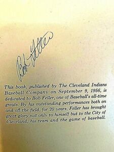 2 Bob Feller Books 20 Years With the Cleveland Indians 1956, & 2014 Now Pitching