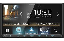 New Kenwood DMX7705S Double 2 DIN Media Player Android iPhone HD Radio Bluetooth