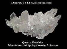 (M)  QUARTZ, MOUNT IDA, MONTGOMERY COUNTY, ARKANSAS