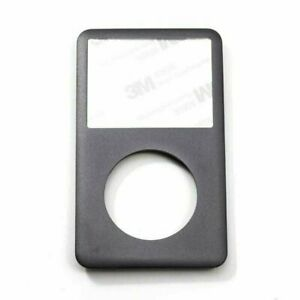 Gray Black Face Plate For Apple iPod Classic 6th 7th Gen Front New 120GB 160GB