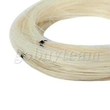 More details for 2 hank violin bow hair horse hair for violin bow parts unbleached