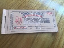 Vintage WWI, Military Entertainment Service, Smileage Book, Liberty Movie Ticket
