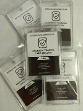 More details for 5 x 35pt magnetic trading card holder case - mag one touch - brand new sealed