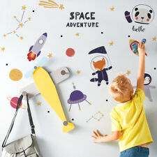 Space Wall Sticker For Children Bedroom/Classroom Home Decor DIY Removable