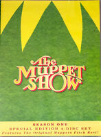 The Muppet Show TV Series Complete 1st First Season 1 One NEW 4-DISC DVD SET