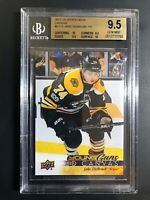 2017-18 Jake DeBrusk Young Guns Canvas Rookie BGS 9.5
