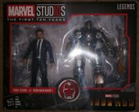 Marvel Legends First Ten Years Tony Stark Iron Man Mark 1 Action Figure Set MCU