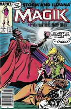 Magik Comic Issue 3 Illyana And Storm Limited Series Copper Age First Print 1984