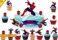 picture about Free Printable Cupcake Wrappers and Toppers With Spiderman called Spiderman Cake Toppers Cupcake Selections for sale eBay