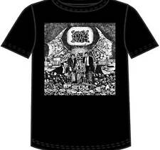 NAPALM DEATH - Scum T-shirt - Size Large L - Classic Grindcore Death Metal *
