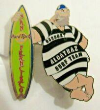 HRC Hard Rock Cafe San Francisco Alcatraz Surf Team RARE Desirable pin!