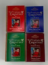 SET OF 4 HALLMARK KEEPSAKE TWAS THE NIGHT BEFORE CHRISTMAS ORNAMENTS