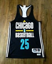 Adidas WNBA Chicago Basketball #25 Macaulay Double Sided Jersey Tank Top