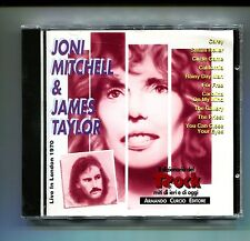 JONI MITCHELL & JAMES TAYLOR # LIVE IN LONDON 1970 # Curcio # CD Rock