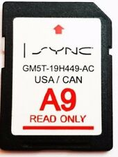 A9 2019 MAP UPDATE Navigation SD CARD SYNC FITS ALL FORD, LINCOLN UPDATES A8 A7