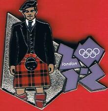 2012 London Scotsman Olympic Games Mark Pin New In Package