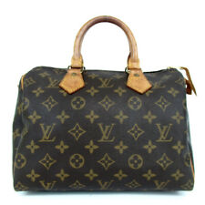 Authentic LOUIS VUITTON M41528 Monogram Speedy 25 MI1901 Handbag PVC/leather...