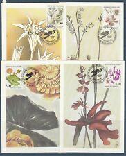 carte  1er jour  les 4 fleurs des zones humides  44 Nantes   1992