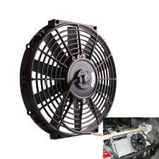 12″ Inch Universal Slim Fan Push Pull Electric Radiator Cooling 12v Mount Kit