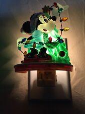 Disney Minnie Mouse Christmas Night Light in original box