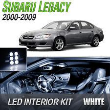 2000-2009 Subaru Legacy White LED Lights Interior Kit
