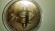 Bitcoin Commemorative Round Collectors Coin