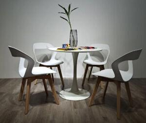 4 × Designer scandinavian chair  Chair Set of modern chairs