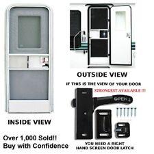 RV- Screen Door Latch Right Hand Handle E285 - Camper Motorhome Travel Trailer