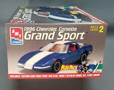 AMT 1996 Chevy Corvette Grand Sport Plus Pack Kit #8643 looks untouched complete