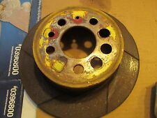 VOLVO 240 TURBO REAR SLOTTED BRAKE DISC ROTOR
