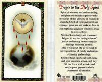 Prayer to Holy Spirit Catholic Laminated Card Holy Cards JimsStoreUSA- HC9-066E